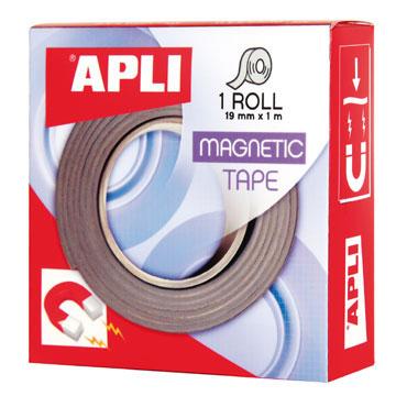 Cinta magnética 19 mm. x 1 m. Apli 13830