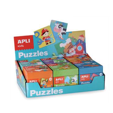 Expositor 6 puzzles Apli 13856
