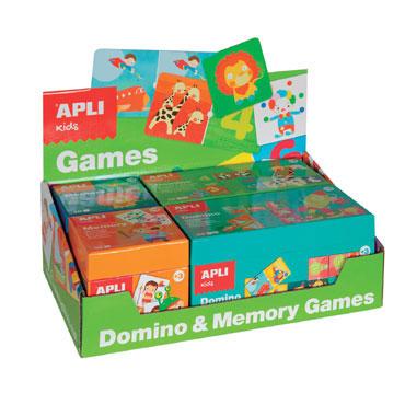 Dominó y Memory Apli 13857
