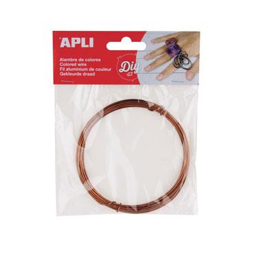 Bobina alambre bronce Apli 14100