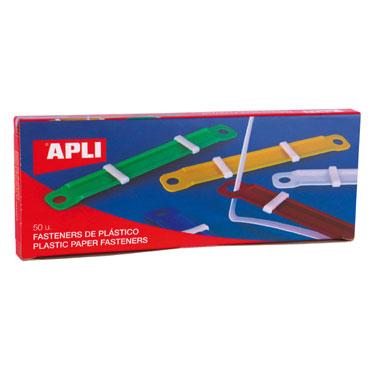 CJ50 fastener plástico colores surtidos Apli 14909
