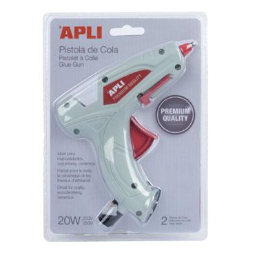 Pistola de cola eléctrica Apli 16668