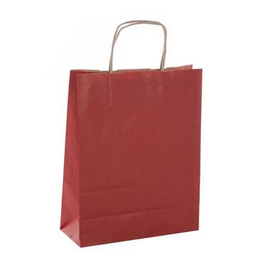 50 bolsas de asa rojo 24x11x31 cm. Apli  101647