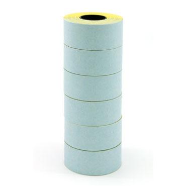 6 rollos etiqueta manual 26x16 mm. blanca Apli 100919