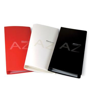 Tarjetero CardSystem rojo 160 tarjetas Apli 12115