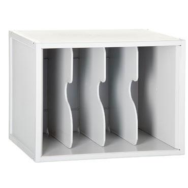 Módulo 3 separadores verticales ArchiSystem Archivo 2000 8103EVGS