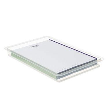 Bandeja plástico sin compartimentos Archivo 2000 RUB1