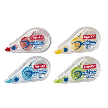 Corrector de cinta Mini Pocket Mouse Tipp-Ex 932564