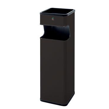 Cenicero-papelera B-33 negro Cilindro B33-NE