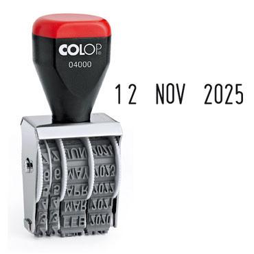 Fechador manual 4 mm. Colop 04000