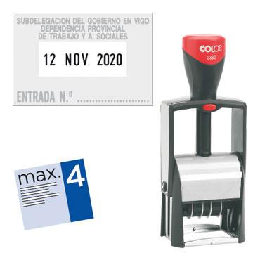 Fechador Classic 2360 personalizable Microban Colop 2360