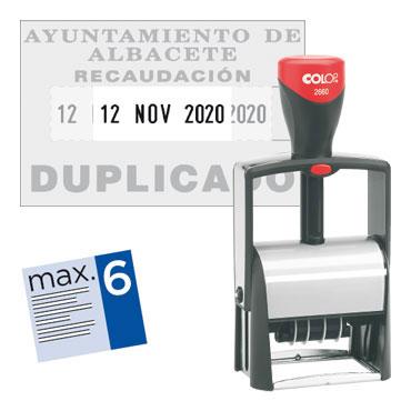 Fechador Classic 2660 personalizable Microban Colop 2660