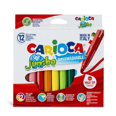 12 lápices de color Jumbo Carioca 40569