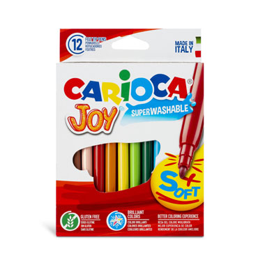 12 lápices de color Joy Carioca 40614