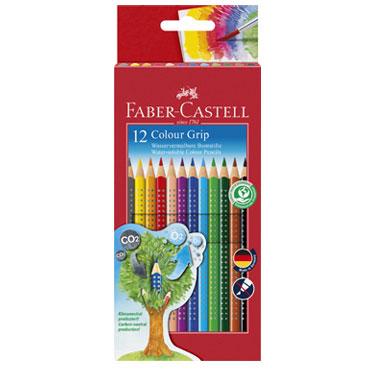 Estuche 12 lápices Grip color Faber Castell  112412