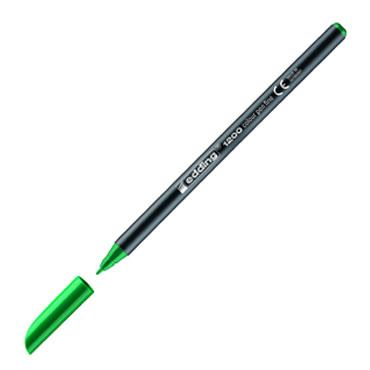 Rotulador edding 1200 verde 1200-004