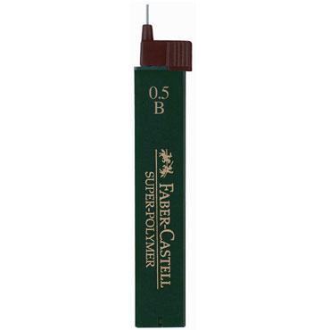 Minas superpolímeras 0,5 mm. B Faber Castell 1205-01