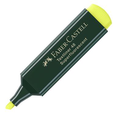 Marcador flúor Textliner amarillo Faber Castell 1548-07
