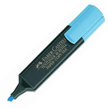 Marcador flúor Textliner azul Faber Castell 1548-51