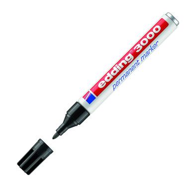 Marcador permanente edding 3000 negro 3000-001