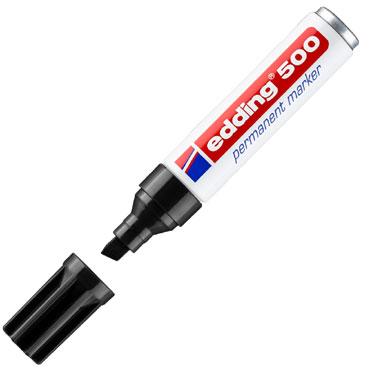 Marcador permanente edding 500 negro 500-001
