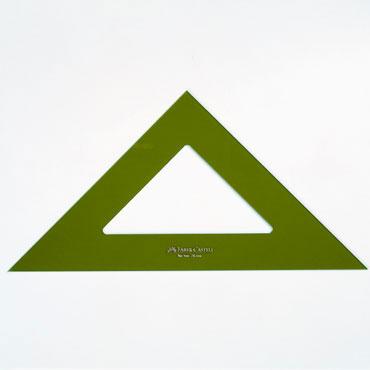 Escuadra 25 cm. Faber Castell 566-25