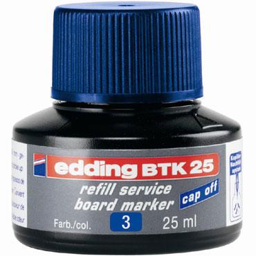 Frasco tinta BTK25 azul edding BTK25-03