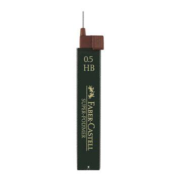 Minas superpolímeras 0,5 mm. H Faber Castell 1205-11