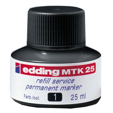 Frasco tinta MTK25 roja edding MTK25-002