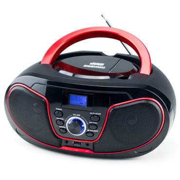 Radio CD DBU-62 negro-rojo Daewoo DBF210