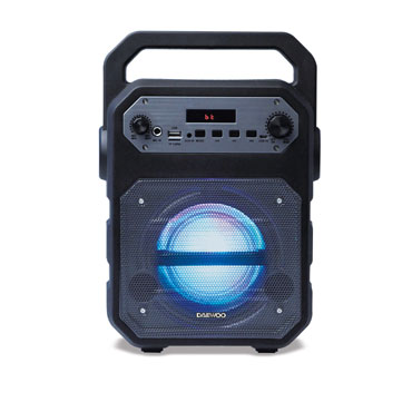 Altavoz Karaoke DSK-345 negro  Daewoo DBF252