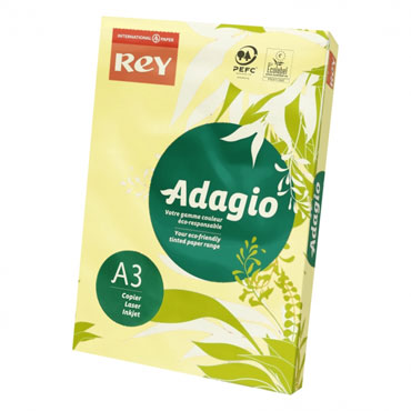 PQ500 papel salmón 80 g/m² Din A-3 Adagio 30134