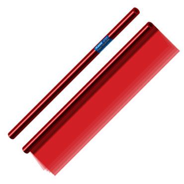25 hojas papel celofán rojo 50x70 cm. Dohe 30330