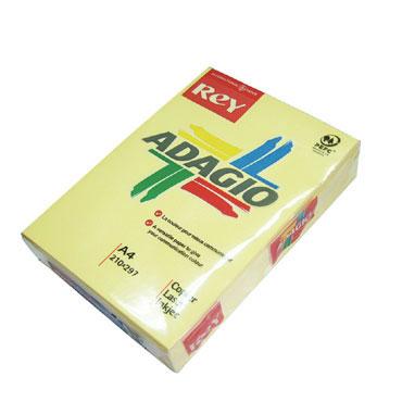 PQ500 papel salmón 80 g/m² Din A-4 Adagio 30204