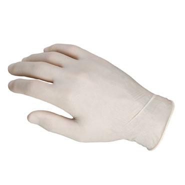 CJ100 guantes de látex talla mediana