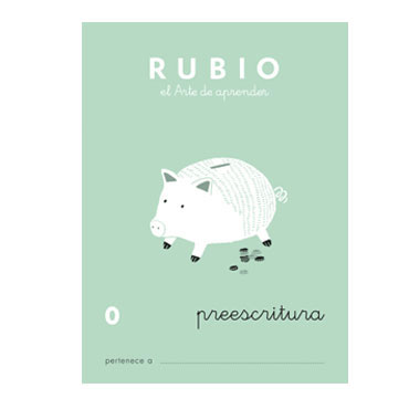 Cuaderno Rubio A5 Escritura Nº  0 12602013