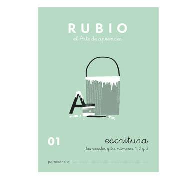 Cuaderno Rubio A5 Escritura Nº  01 12602014