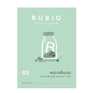 Cuaderno Rubio A5 Escritura Nº  02 12602015