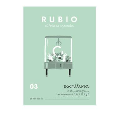 Cuaderno Rubio A5 Escritura Nº  03 12602016