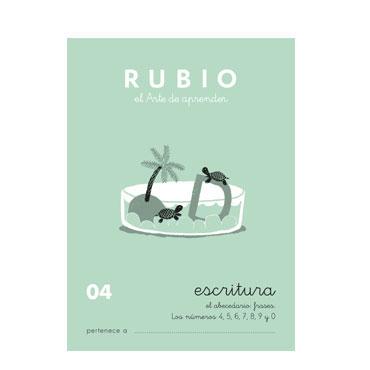 Cuaderno Rubio A5 Escritura Nº  04 12602017