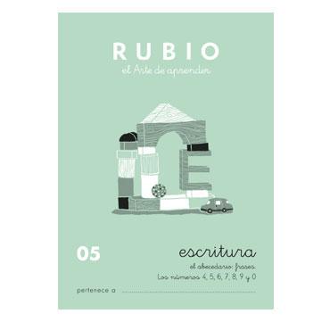 Cuaderno Rubio A5 Escritura Nº  05 12602018