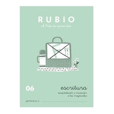 Cuaderno Rubio A5 Escritura Nº  06 12602019