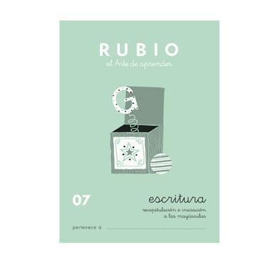 Cuaderno Rubio A5 Escritura Nº  07 12602020