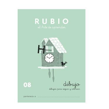 Cuaderno Rubio A5 Escritura Nº  08 12602021