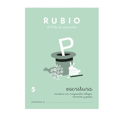 Cuaderno Rubio A5 Escritura Nº 5 12602028
