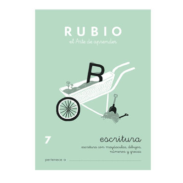 Cuaderno Rubio A5 Escritura Nº 7 12602030