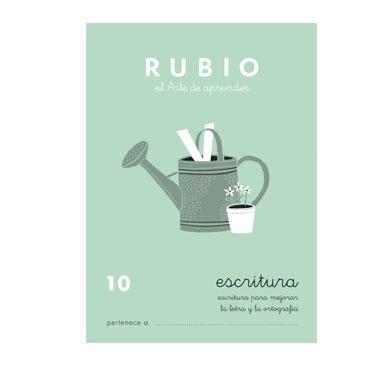 Cuaderno Rubio A5 Escritura Nº10 12602033