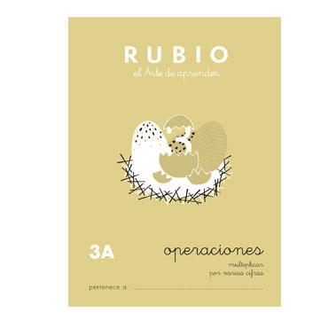 Cuaderno Rubio A5 Operaciones y Problemas Nº 3A 12602039