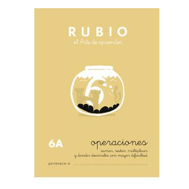Cuaderno Rubio A5 Operaciones y Problemas Nº 6A 12602042