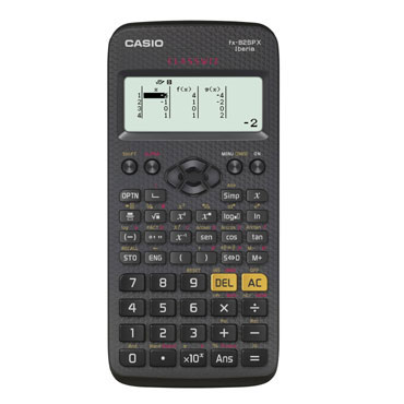 Calculadora FX-82 SPX Casio 15404005